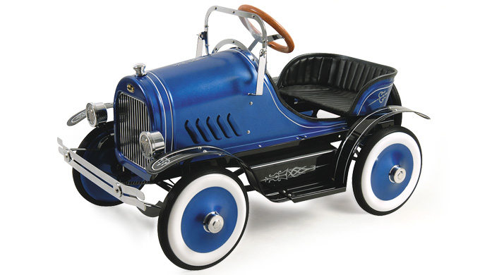 Roadster Pedal Car (Blue) – FREE Perth Delivery