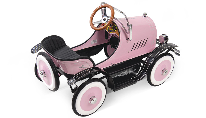 Roadster Pedal Car (Pink) – FREE Perth Delivery