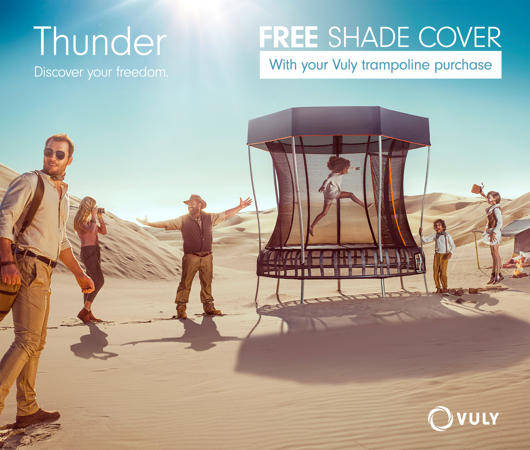 Thunder (X/Large) + FREE Shade Cover + FREE Perth Delivery
