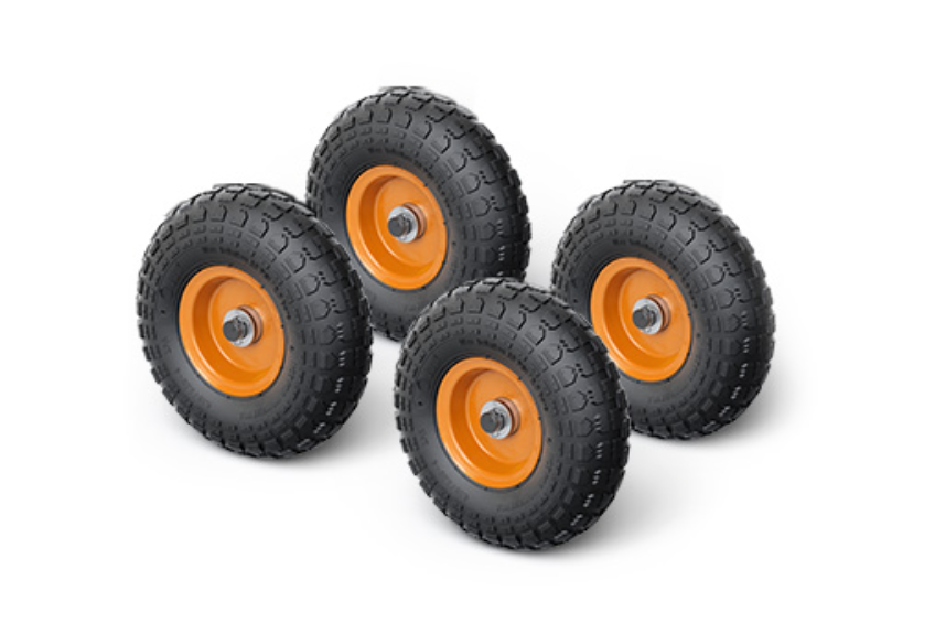 Vuly Trampoline Wheels (Small/Medium 4 included)