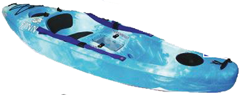 Gizmo Vision Kayak + FREE Paddle + FREE Delivery*