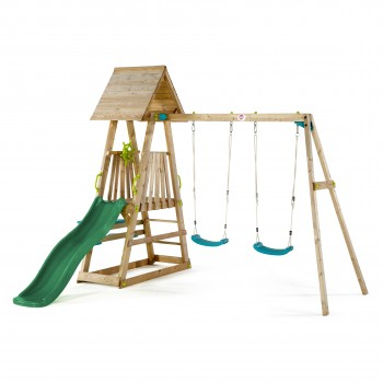 27503ac69_plum_indri-wooden-climbing-frame_colour-_dark_green_slide_final_edit
