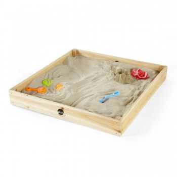 Plum Junior Sandpit-Teal (Colour varies from picture)(incl Perth Delivery)
