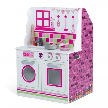 Plum 2 in 1 Dollhouse and Kitchen (incl Perth Delivery)