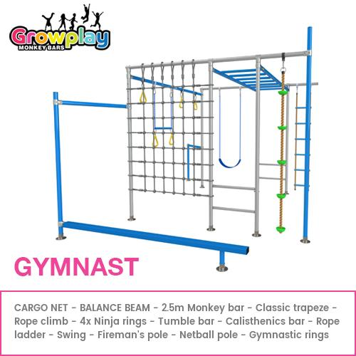 GROWPLAY Monkey Bars (THE GYMNAST) + Free Balance Beam + FREE Perth Delivery