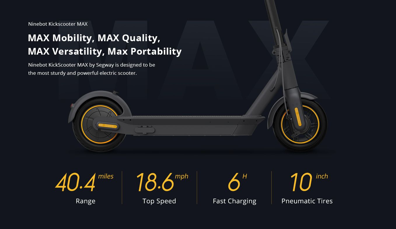 Segway Ninebot Kickscooter Max Gen 2 G30l Free Perth Delivery Instant Fun