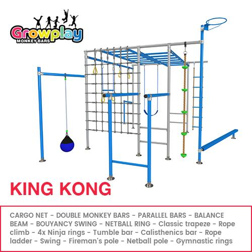 GROWPLAY Monkey Bars (THE KING KONG) + FREE Perth Delivery