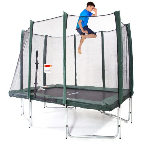Web and Warehouse 7x10ft Rectangle Trampoline