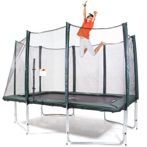 Web and Warehouse 8x12ft Rectangle Trampoline – Standard