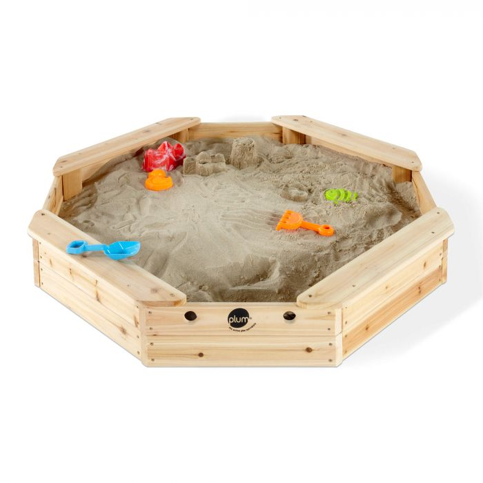 PLUM® Treasure Beach Wooden Sand Pit & Cover – FREE WA Delivery