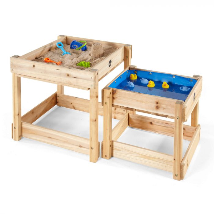 PLUM® Sandy Bay Wooden Sand & Water Tables – FREE WA Delivery