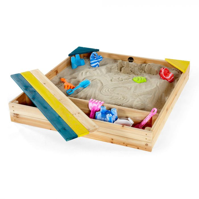 PLUM® STore-it Wooden Sand Pit – FREE WA Delivery