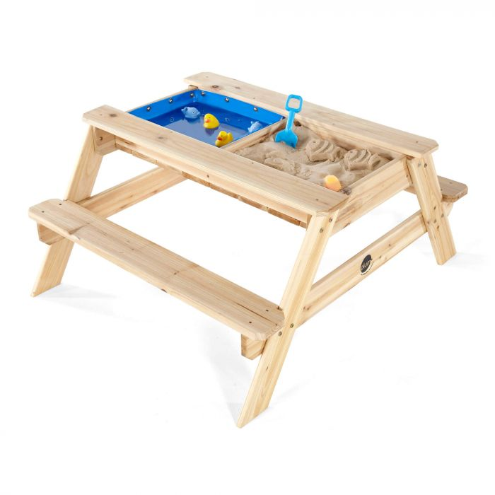 PLUM® Surfside Wooden Sand & Water Picnic Table – FREE WA Delivery