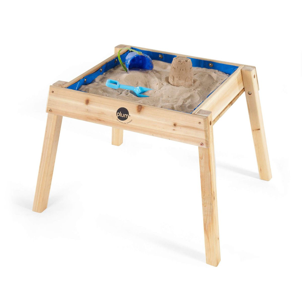 PLUM® Build & Splash Wooden Sand & Water Table – FREE WA Delivery